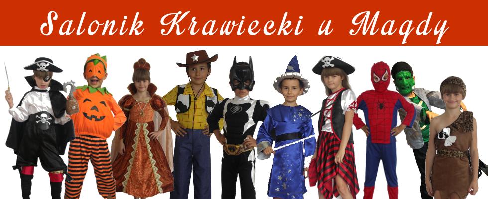 Usługi krawieckie. Wypożyczalnia kostiumów dla dzieci.